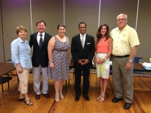 Members of the Regional Tourism Council were happy to welcome Al Hutchinson to Coastal Alabama