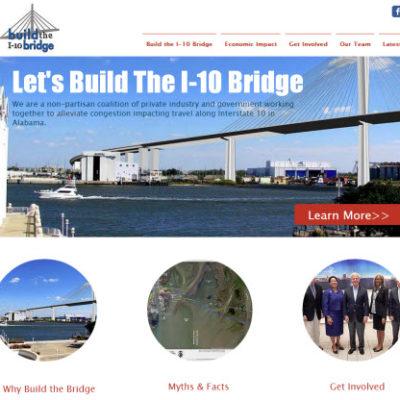 NEW Build the I-10 Bridge Coalition Website Released