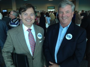 President & CEO, Wiley Blankenship with Board Member, Bestor Ward
