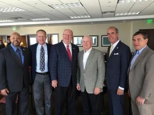 Mayor Troy Ephriam, Mayor Jeff Collier, Mayor Tim Kant. Director John Cooper, Mayor Sandy Stimpson and Mayor Dane Haygood