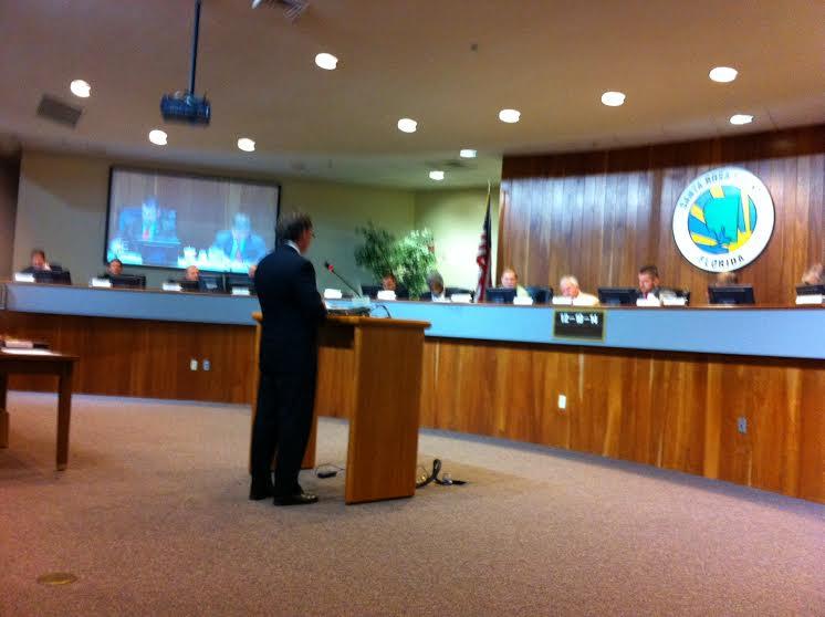 Wiley Blankenship Presenting to FL-AL Transportation Planning Organization