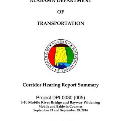 87% in favor of building the I-10 Bridge, preliminary design process to begin