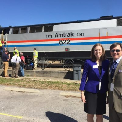 Leaders Take Historic Trip across the Gulf Coast in Support of Passenger Rail Service