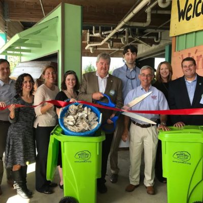 Launch of First Oyster Shell Recycling Program in Alabama